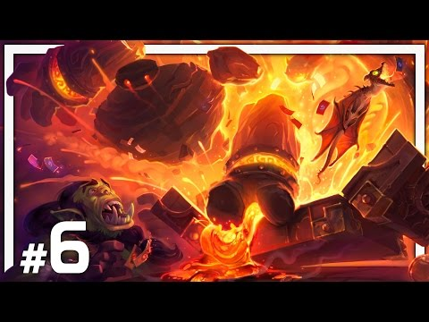 Hearthstone: One Man Raid - BRM #6 - Molten Core Heroic - Part 1