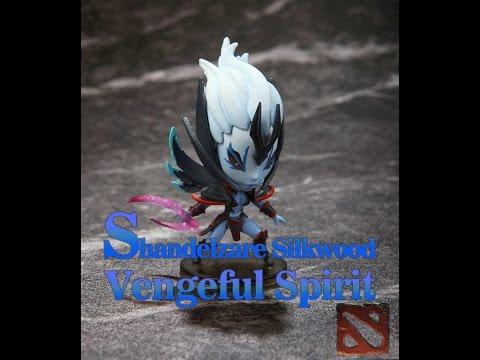 Обзор фигурки героя Vengeful Spirit из Dota 2