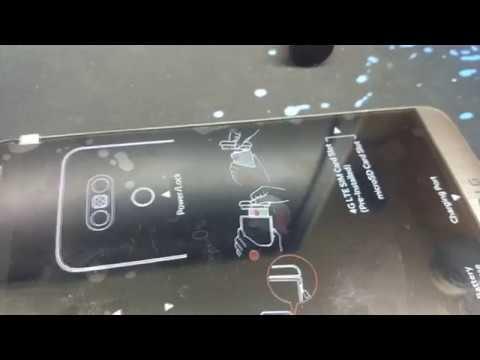 Обзор и ремонт мобильного телефона LG G5 64 Gb. Замена экрана.