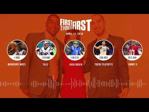 First Things First audio podcast(4.11.18) Cris Carter, Nick Wright, Jenna Wolfe | FIRST THINGS FIRST
