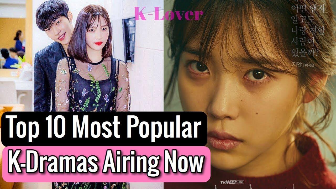 Top 10 Most Popular Korean Dramas Airing Now - YouTube