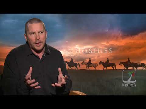 Christian Bale discusses Oscar Contender HOSTILES and America's return to Hatred