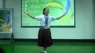 Bb Reyshanne Joy Marquez Kampeon Sa Talumpati Uplb Buklod