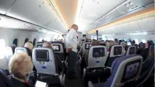 United Airlines Boeing 787 Dreamliner Inaugural Flight