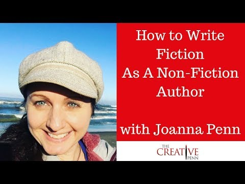 How to Write Fiction As A Non-Fiction Author with Joanna Penn