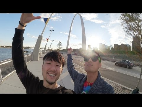 DOWNTOWN ST. LOUIS TOUR!!! (Part 2)