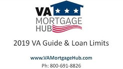 2019 VA Mortgage Guide, Loan Limits