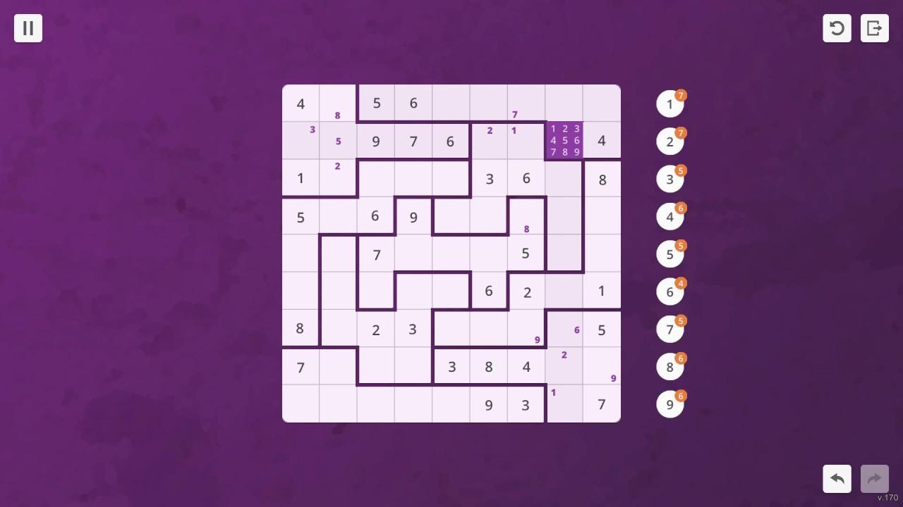 Sudoku Jigsaw GamePlay