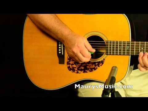 Blueridge BR-160 vs Martin HD-28V at MaurysMusic.com