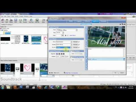 Video Hướng dẫn sử dụng Proshowgold