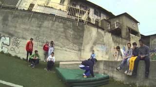 Детский паркур, обучение и трюки 2014