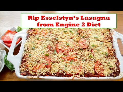 How to make Rip Esselstyn's Raise the Roof/Engine 2 Sweet Potato Lasagna: vegan and vegetarian