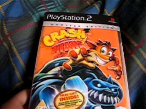 crash of the titans playstation 2