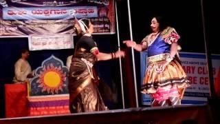 Yakshagana in thulu Kadireda kanchana Padya Ramachandra rai Kadaba artist K H Dasappa Rai and Kedila