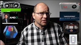 ВИДЕОКАРТЫ АМД не догонят Nvidia. Игровые ПРОЦЕССОРЫ  Ntel на 10 ЯДЕР. AMD Threadripper на PC E 4.0