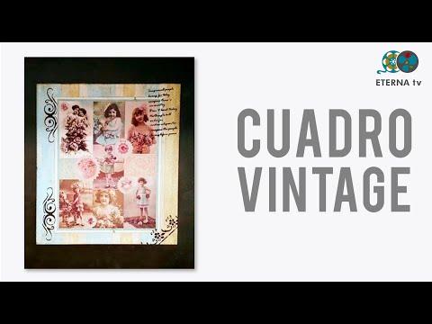 Cuadro Vintage | Silvana Mendoza en Sabores y Algo Más