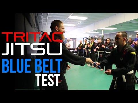 Soul Fighters: TRITAC-Jitsu Blue Belt Test