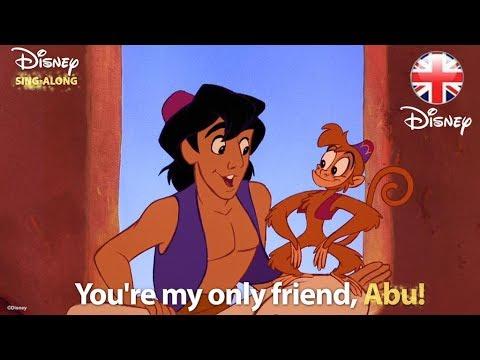 DISNEY SING-ALONGS | One Jump Ahead - Aladdin Lyric Video | Official Disney UK