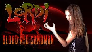 ANAHATA Blood Red Sandman LORDI Cover