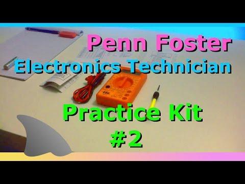 Practice Kit 2 / Electronics Technician (Penn Foster)