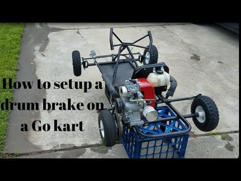 """Carter GoKart 5/"""" Brake Drum /& Brake Band Kit"""