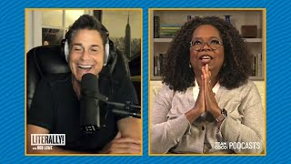 """Oprah Was Extremely Nervous To Interview Diana Ross - """"Literally! With Rob Lowe"""""""