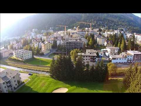 Davos Dorf - Davos Platz - Switzerland DJI Phantom Vision Plus