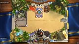 Показательная игра Hearthstone №1