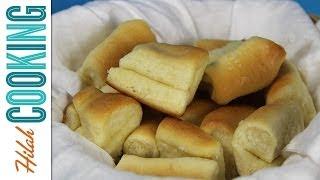 Buttery Dinner Rolls Recipe |  Hilah Cooking