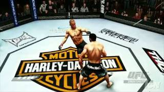 UFC Undisputed 2009 Xbox 360 Trailer - Kick Boxing