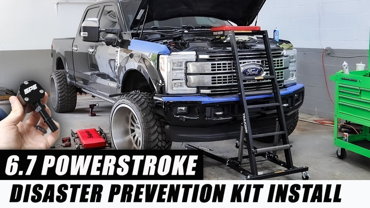 How To Finally Bulletproof Your 6 7 Powerstroke Holy Grail Mod Youtube