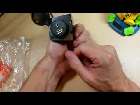 (:Review:) Rerii Car Audio USB Port & Headphone Jack ~Extension Cable W/Flange Or Flush Mount