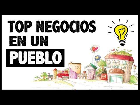 7 Negocios para Montar en un Pueblo o Ciudades PEQUEÑAS (Más de 1000 habitantes)