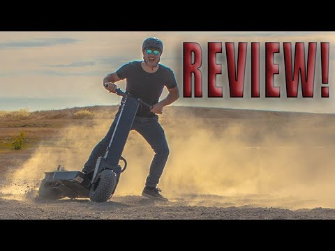 40 MPH ELECTRIC SCOOTER IS DANGEROUSLY FAST!!! Review, ride, unboxing Works Electric Hollyburn P5