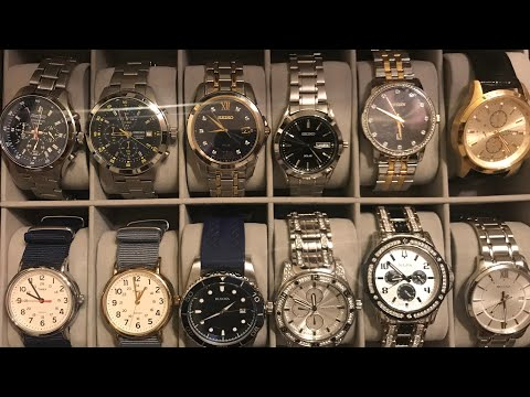 What Watches Did I Put In My New Watch Box?