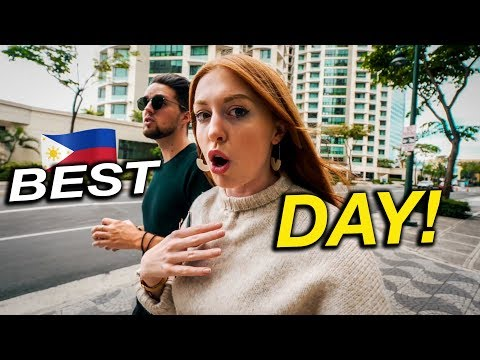 It FEELS DIFFERENT Here?! Our Favourite Day In Manila!