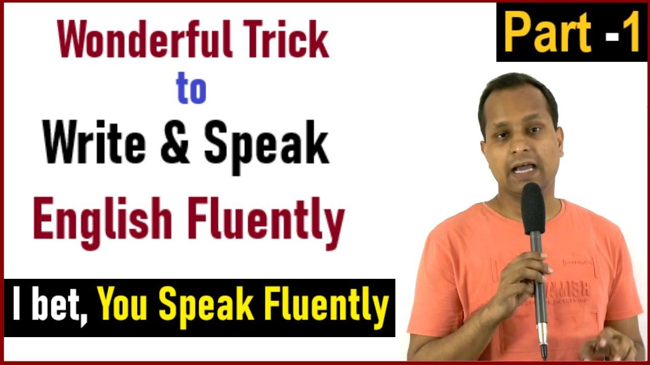 Wonderful Trick to Improve Writing & Speaking English | By - Prakash Singh Azad |
