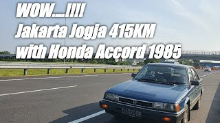 Test Drive Honda Accord 1985 Jakarta Jogja 415km !!!