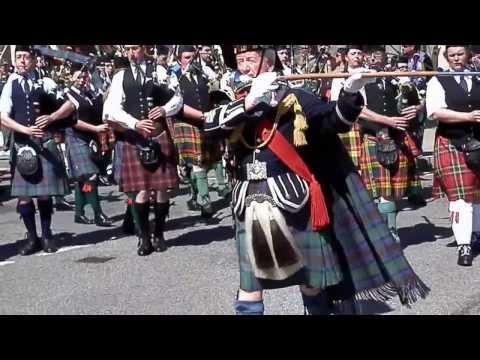 Portree Highland Games  Pipe Band
