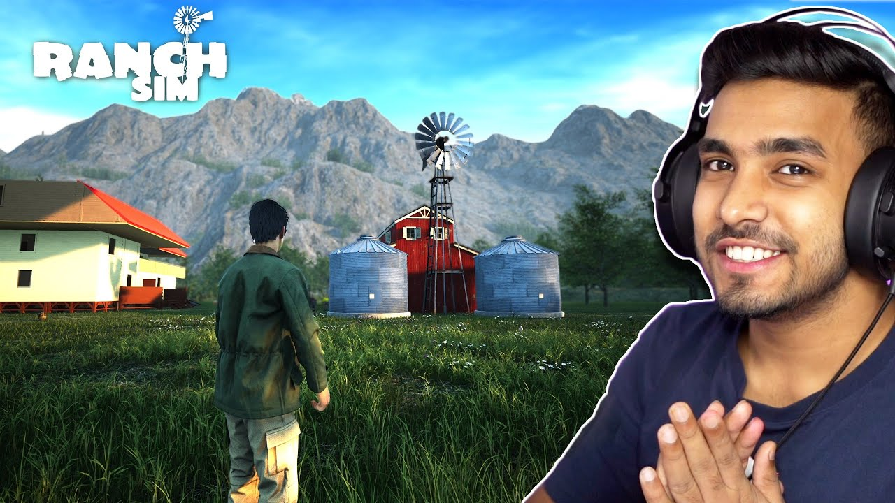 Download I BUILD AN AUTOMATIC FEEDER   RANCH SIMULATOR GAMEPLAY #13