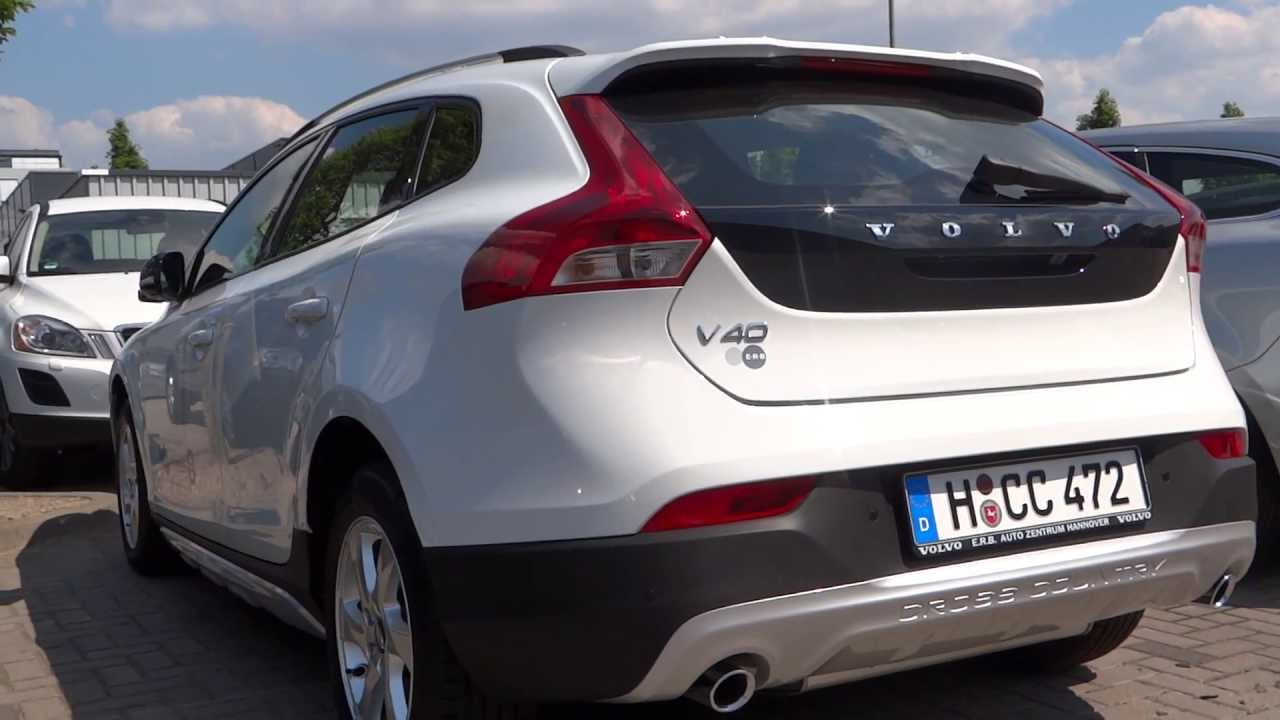 New Volvo V40 Cross Country 2014 Youtube