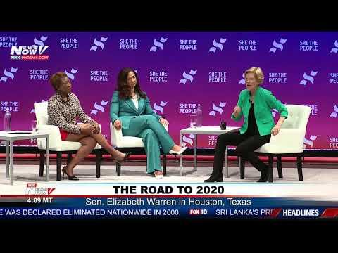 FIRST WOMAN PRESIDENT: Elizabeth Warren Says She Has What It Takes