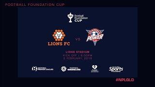NPL R1 - Lions FC vs Peninsula Power FC