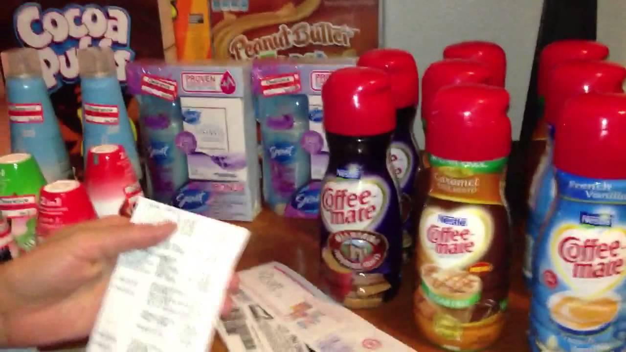 1379d73ec Mi compra con cupones gratis en Target 2 23 2012 - YouTube