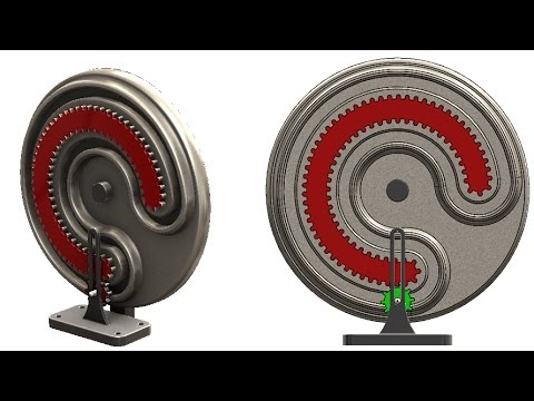 SolidWorks M Tutorial #257 : Mangle-wheel and pinion gear motion analysis