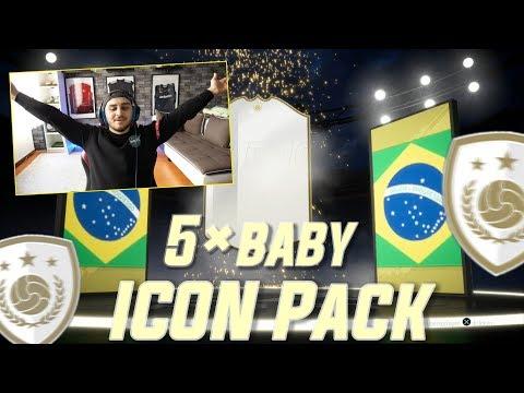 Fifa 19 | Baby Icon Pack Experiment | holen wir die Coins wieder raus? | Serkan Isak thumbnail