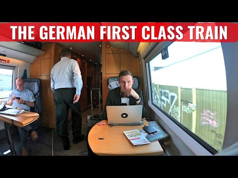 Review: German Rail DB First Class ICE Train - A Luxury prod