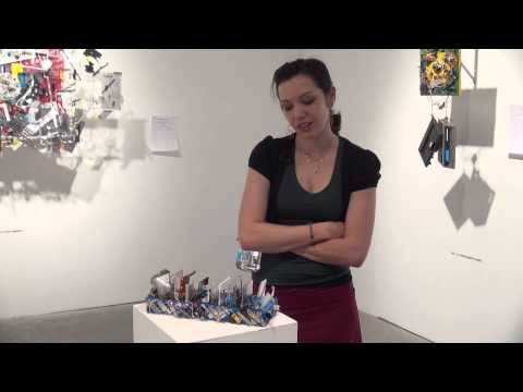 """Angie Morelli's """"Neoteric Deconstruction"""" at the Amanda Harris Gallery of Contemporary Art"""