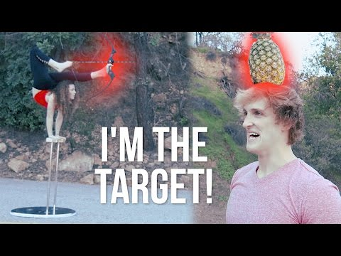 Thumbnail: CRAZY FLEXIBLE GIRL SHOOTS ARROW AT MY FACE WITH HER FEET!