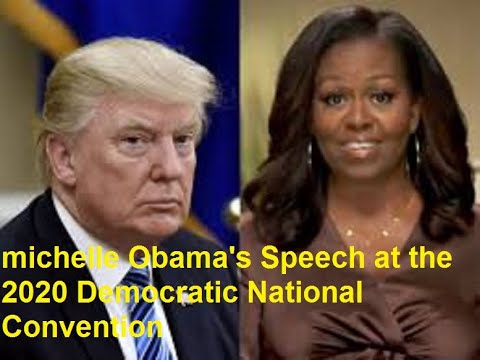 WATCH Michelle Obama's full speech at the Democratic National Convention  2020 DNC Night 1